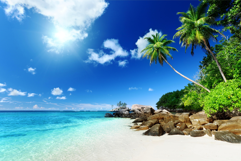 красивые пляжи обои на рабочий стол № 1104529 загрузить