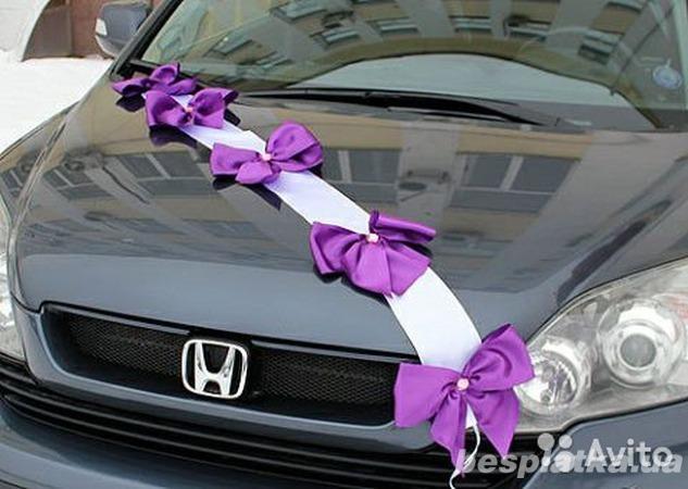 Как украсить автомобиль к свадьбе