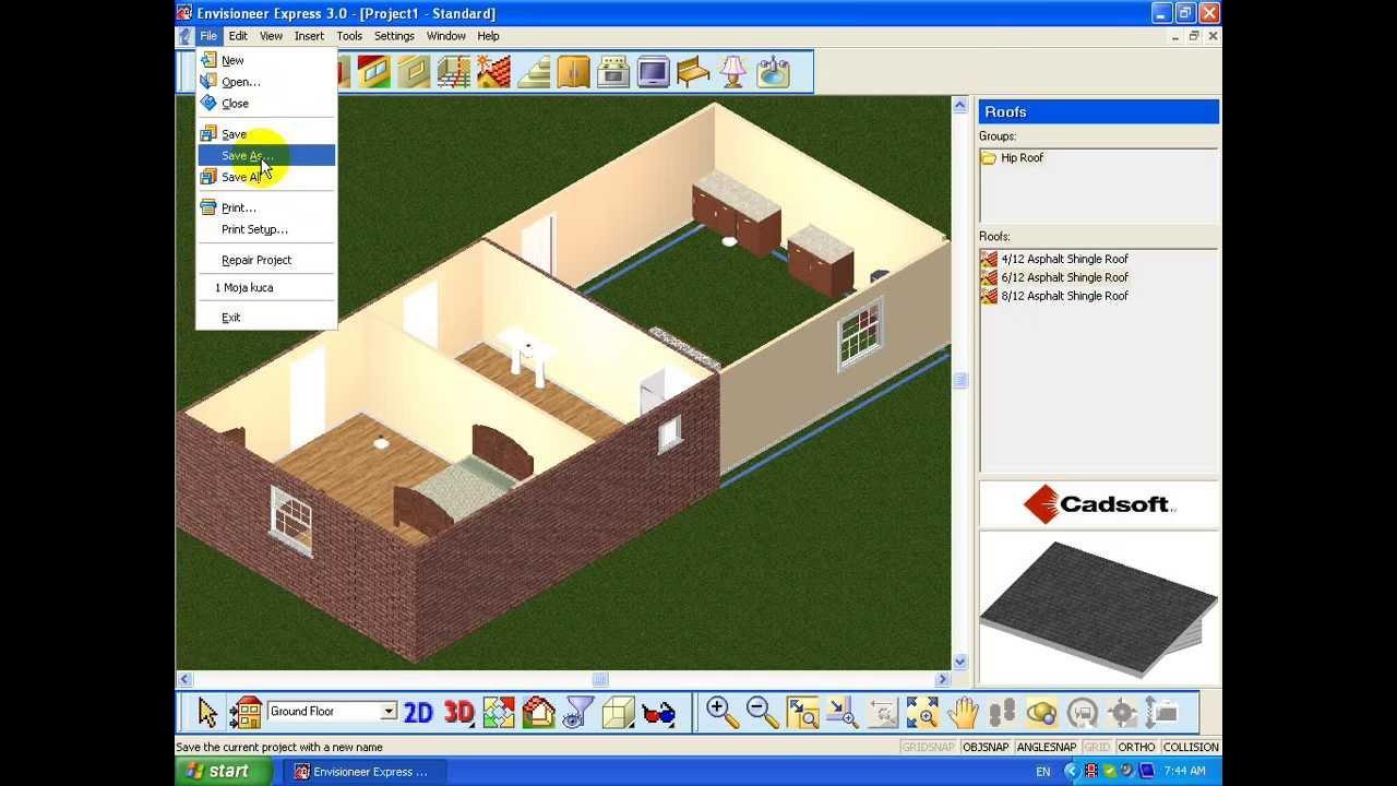 Дизайн проект дома программу