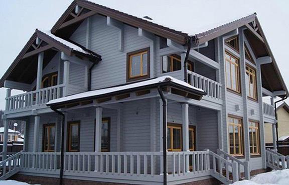 Проекты домов из клееного бруса спб