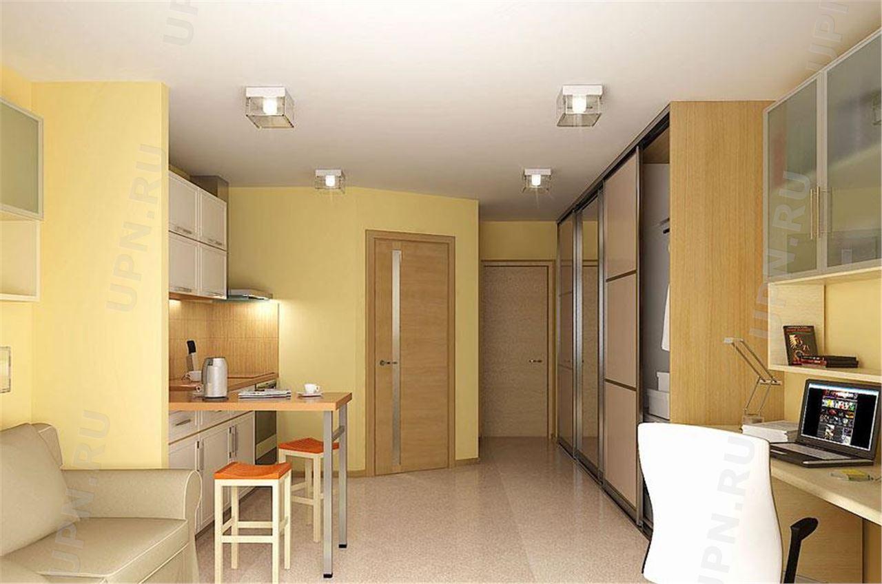 Дизайн маленькой квартиры-студии 15 м