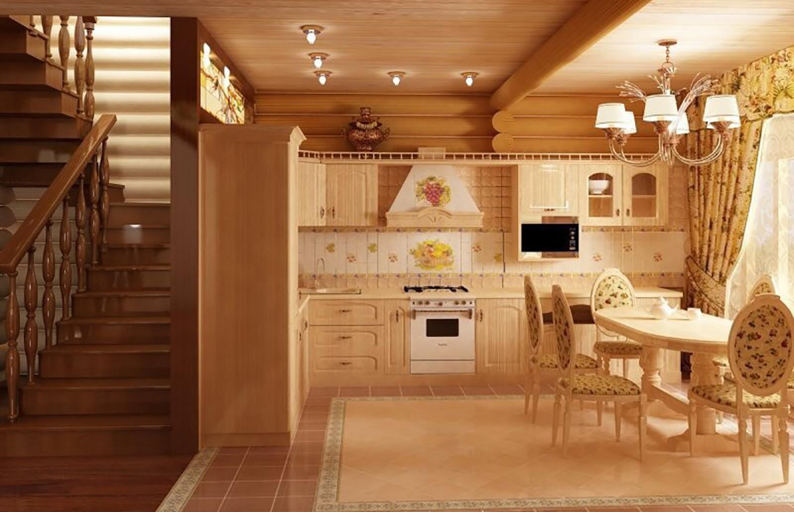 Дизайны бревенчатых домов