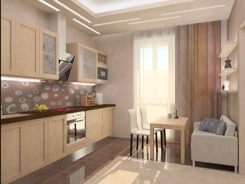 Дизайн окна с балконом на кухне
