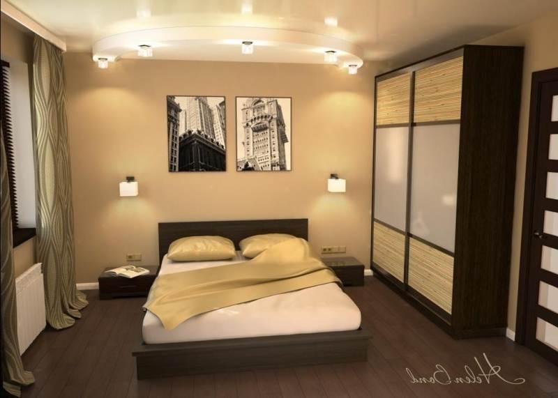 Ремонт спальни 16 кв метров