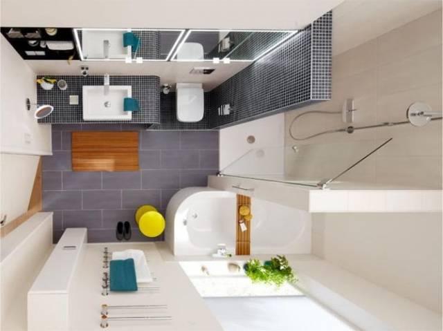 Дизайн ванной 3 на 2 метра