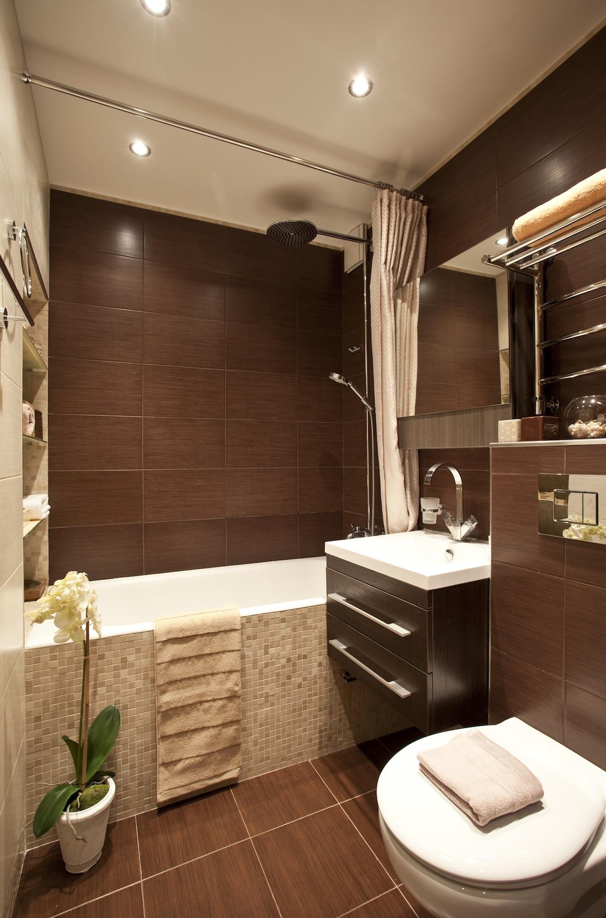 Ванная комната дизайн квартира