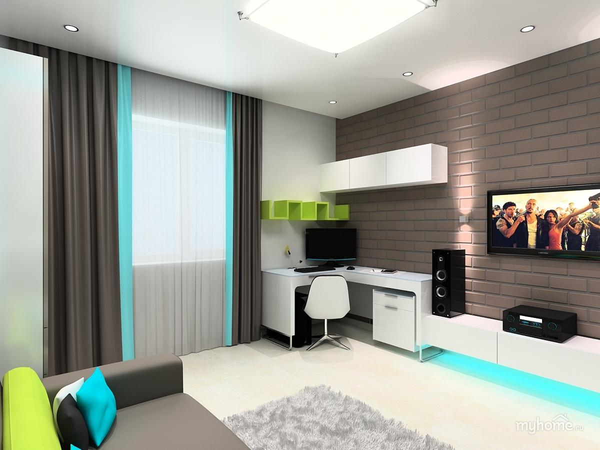 Идеи комната для подростка мальчика