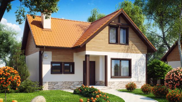 Фото дизайн мансард небольших домов