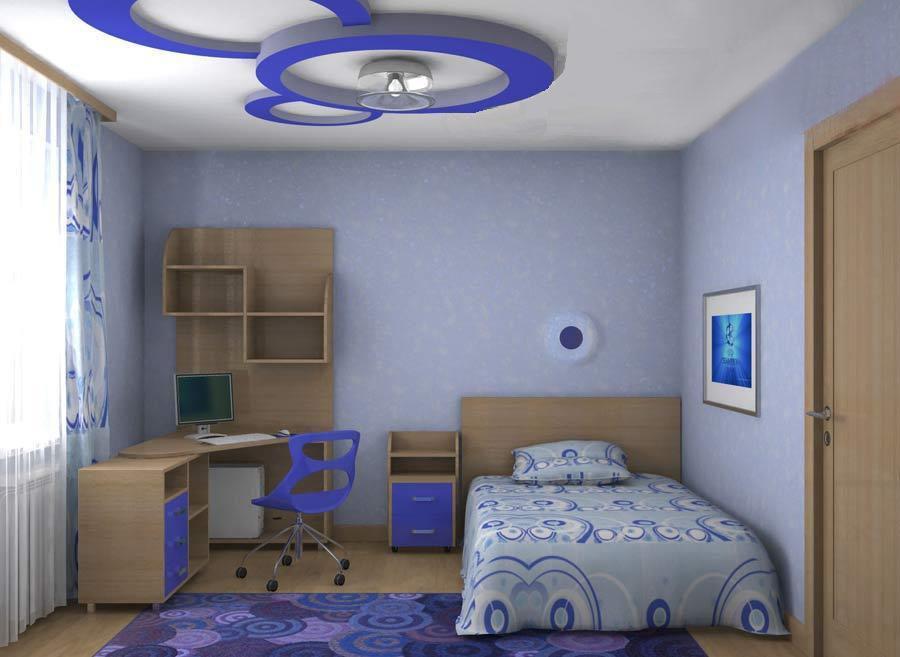 Дизайн детской комнаты в квартире для мальчика