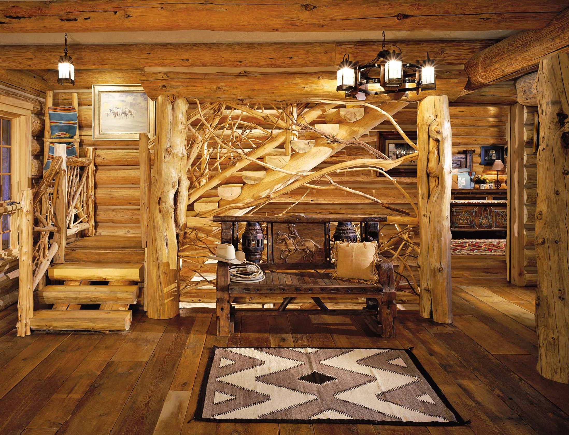 Фото отделки деревянных домов внутри дизайн