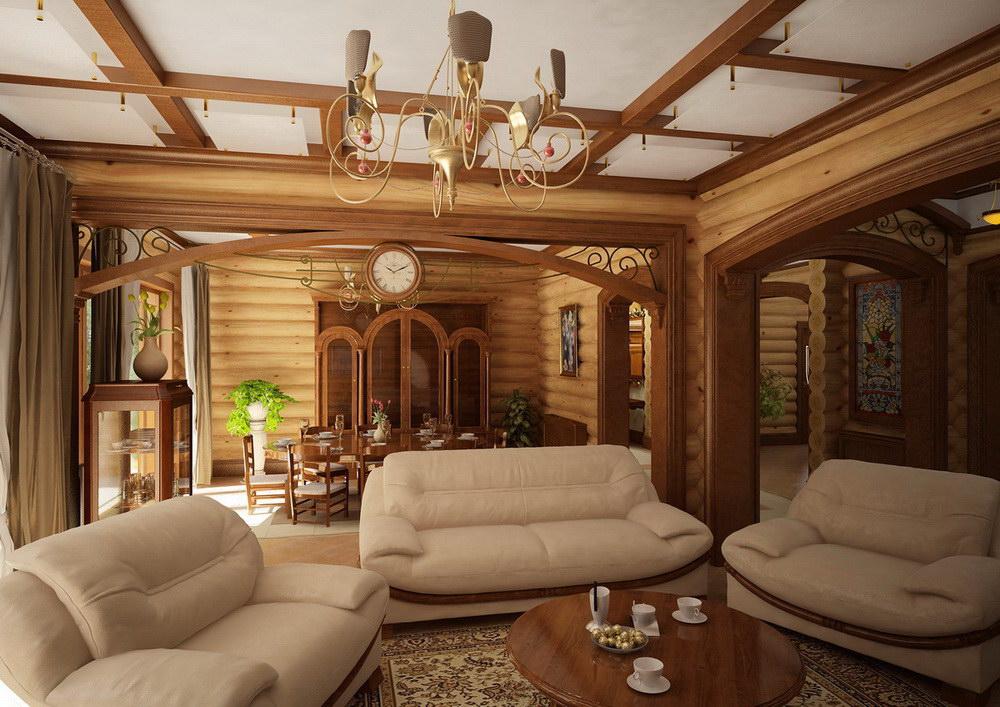 Внутренняя отделка и дизайн загородного дома