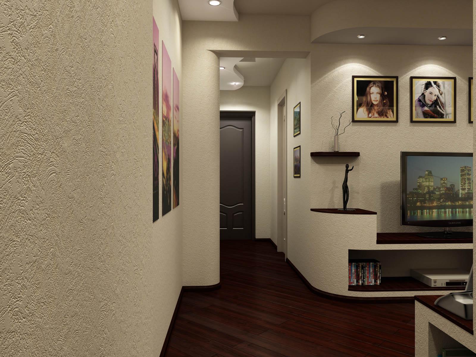 Фото гостиной прихожей дизайн