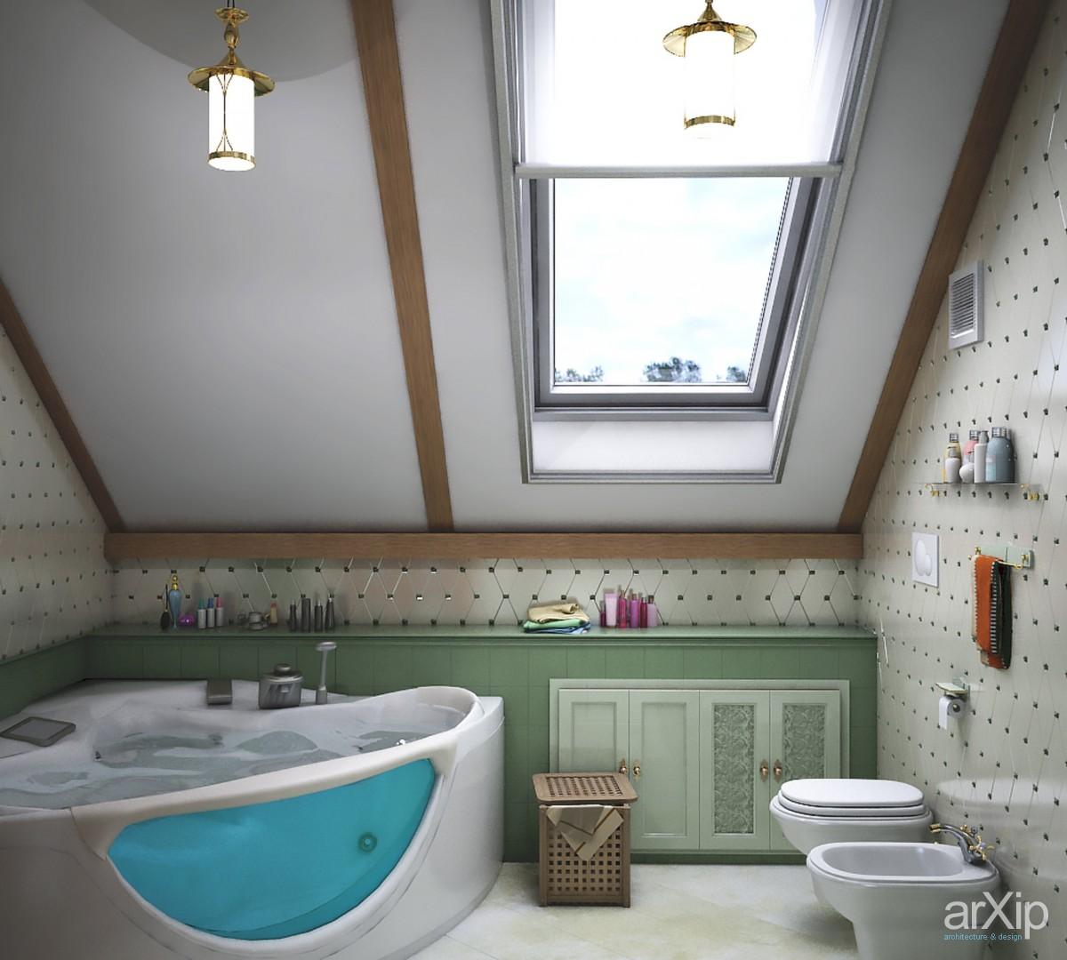 Ванная комната в частном доме - планировка, дизайн и отделка