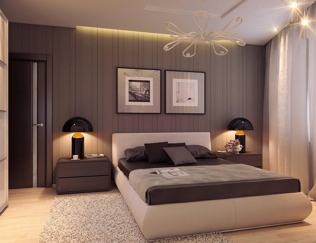 Интерьер простой спальни фото