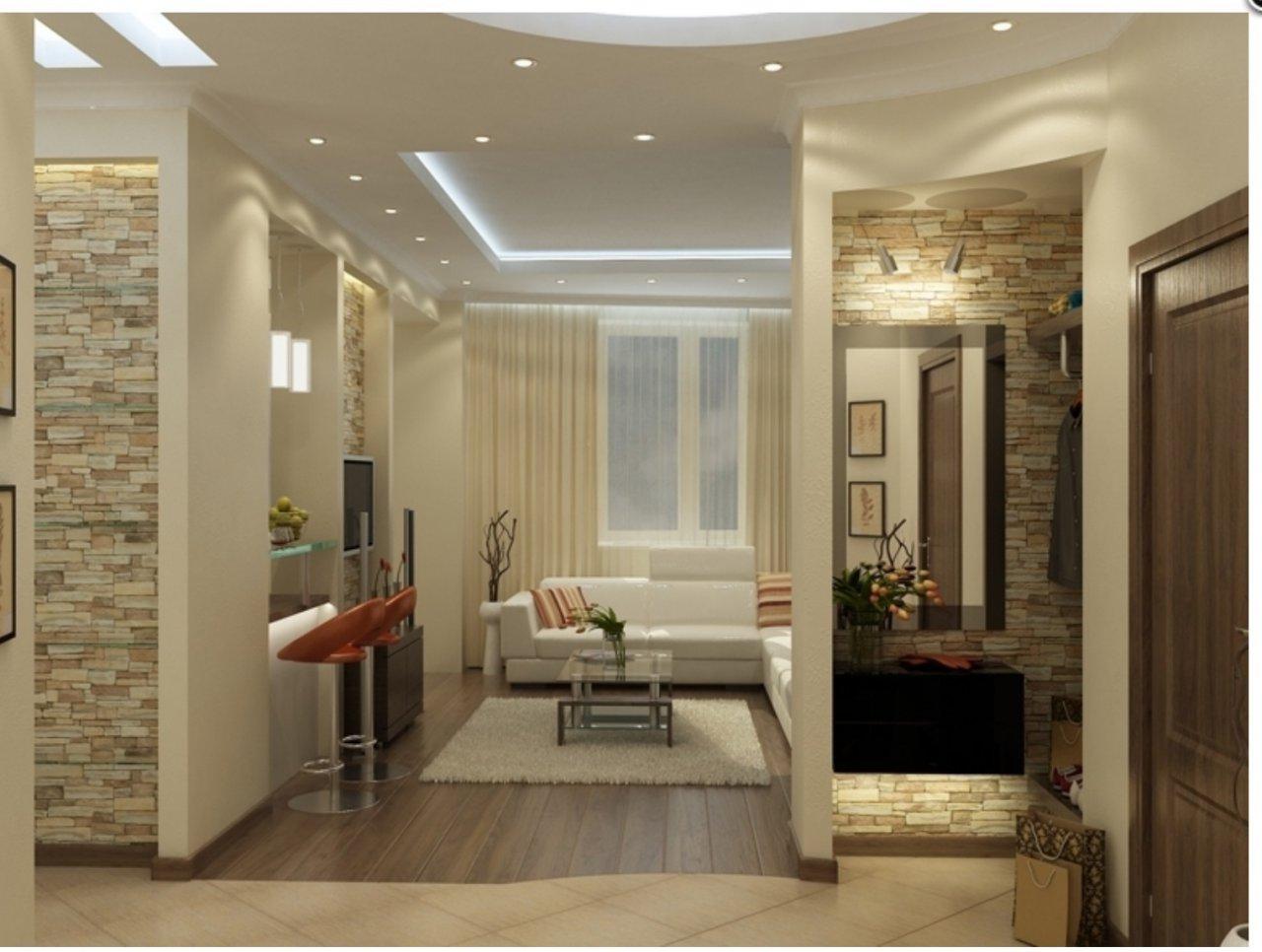 Дизайн квартиргалерея 75кв м