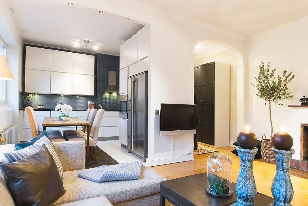 Дизайн 2 комнатной квартиры 60 кв м