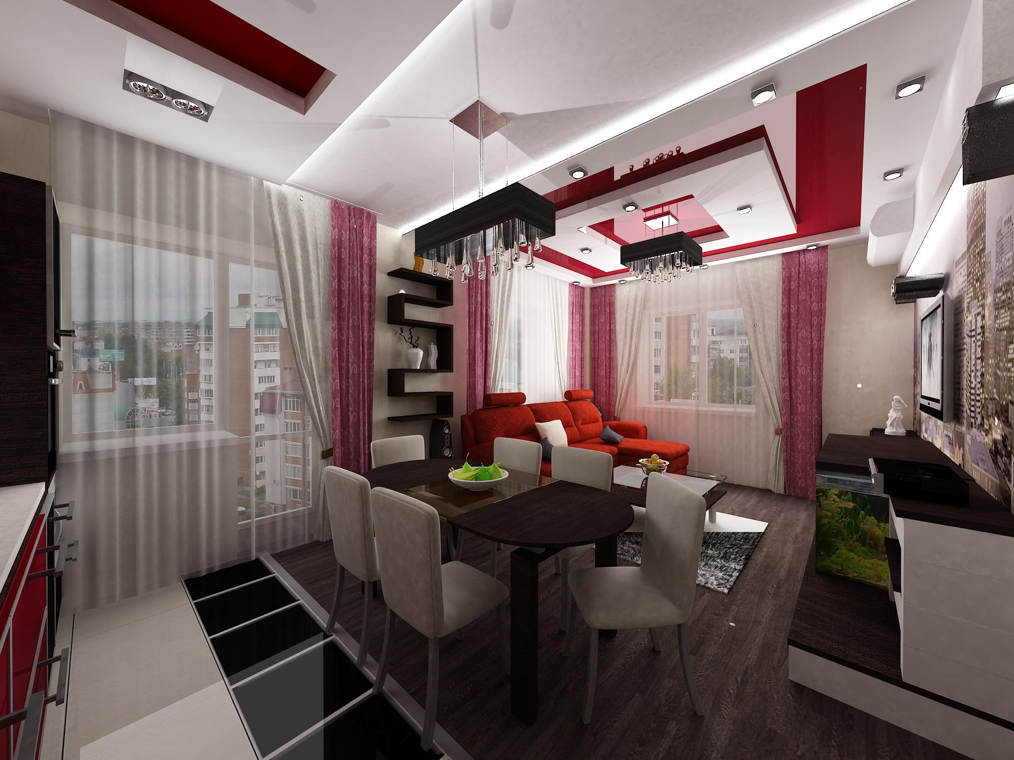Фото дизайн квартиры 80 кв м