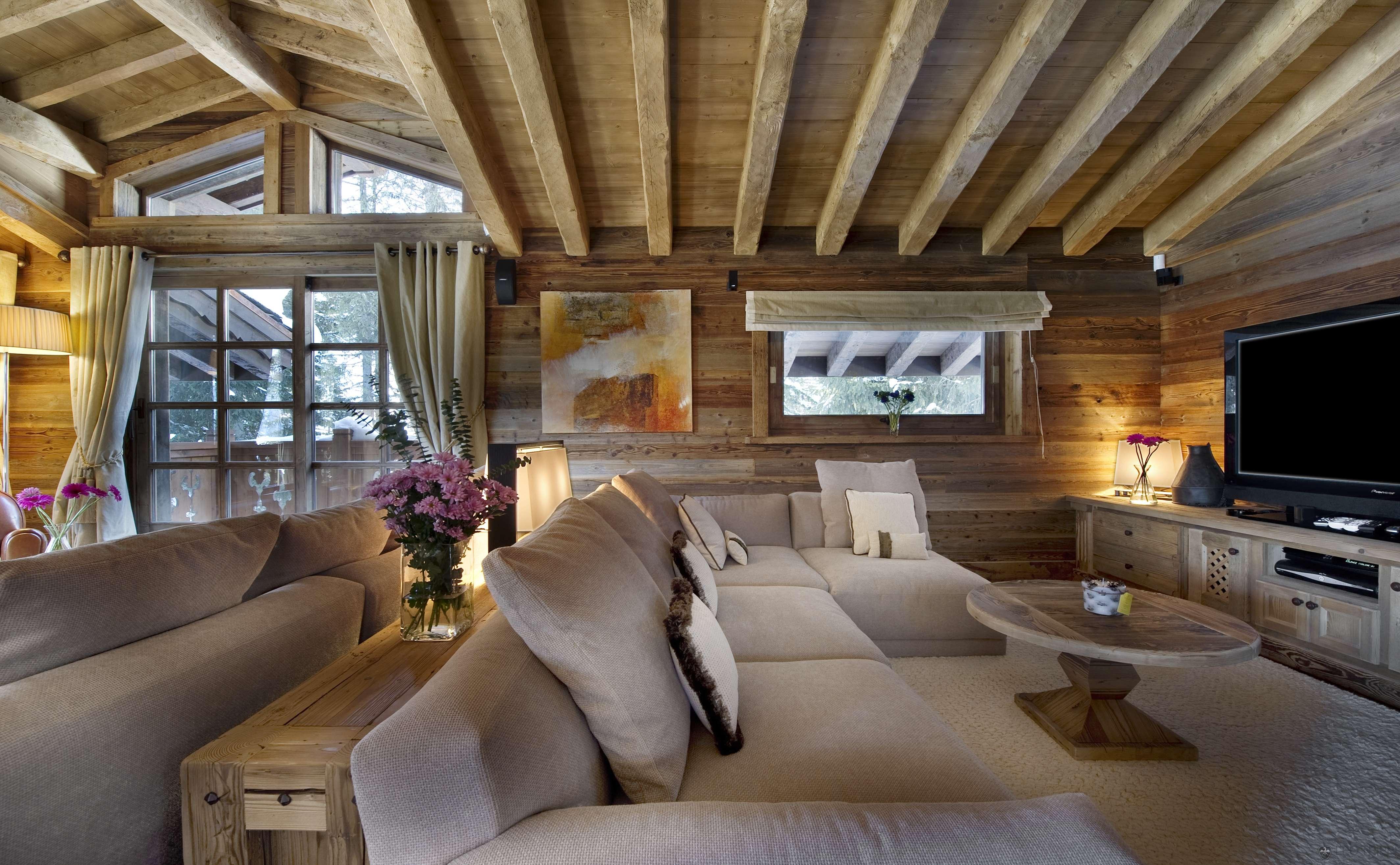 Дизайн своего дома из бруса