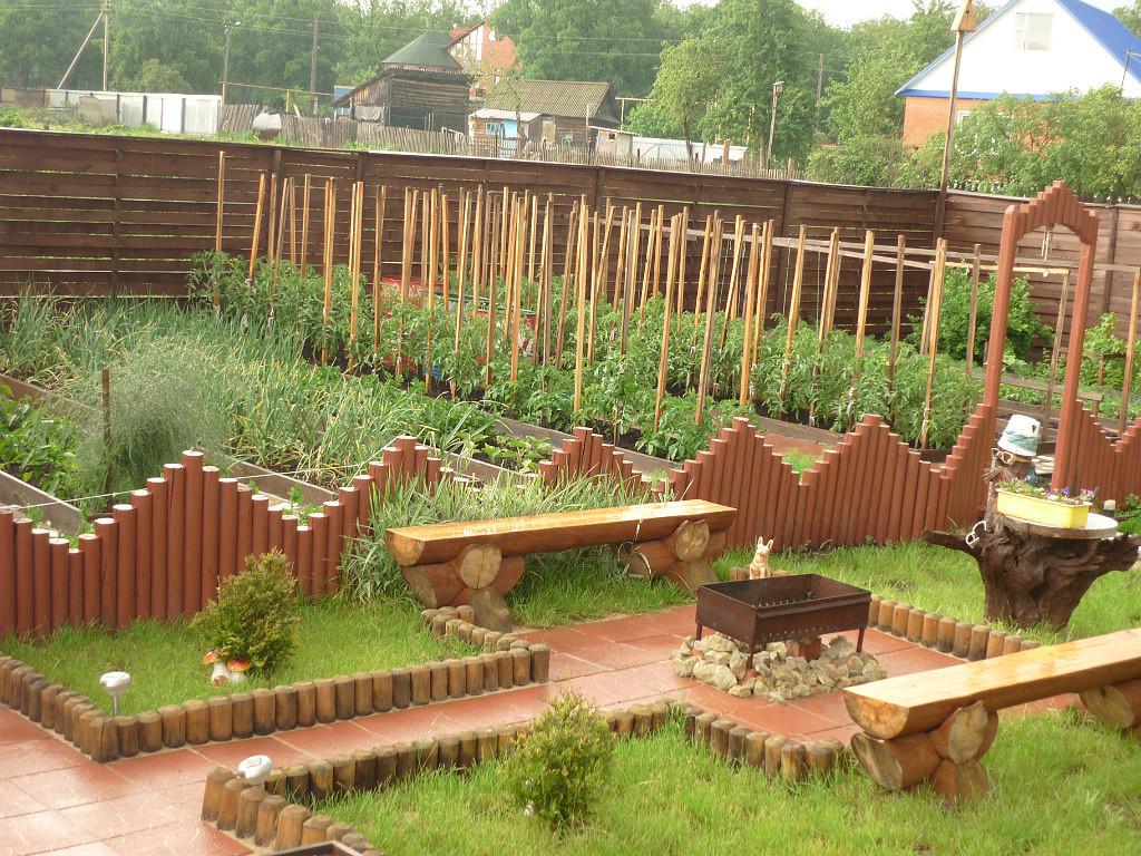 вот Оформить дом на садовом участке будут