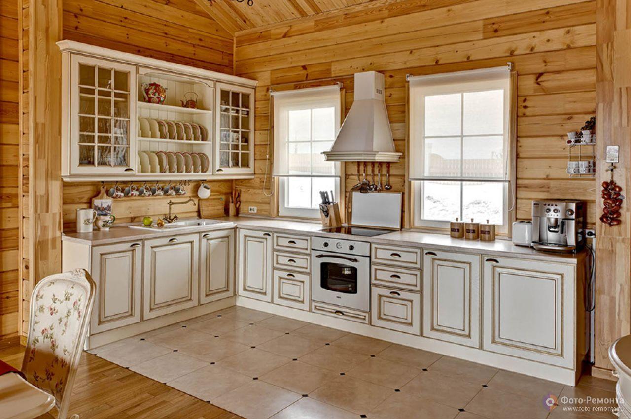 Дизайн кухонь для загородного дома