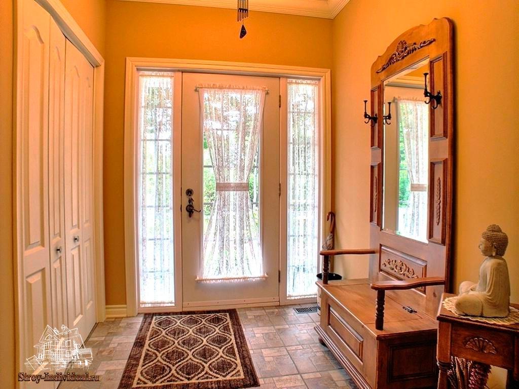 Прихожие дизайн в доме частном доме