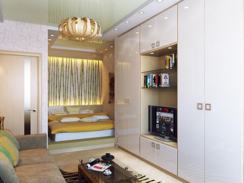Однокомнатные квартиры с нишей дизайн