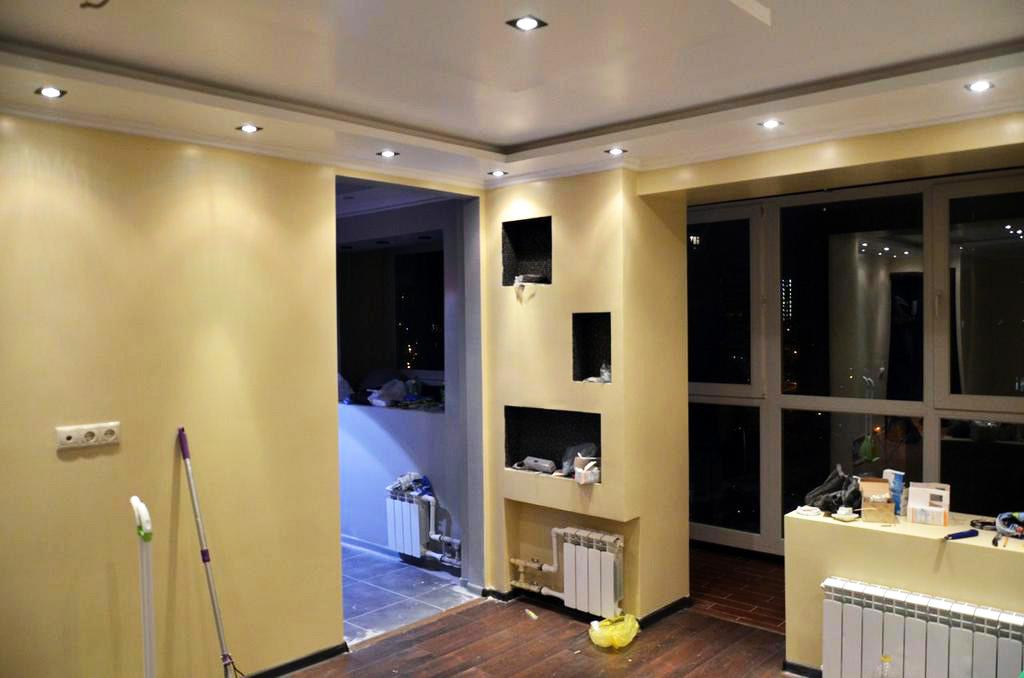 Простой ремонт квартир студия
