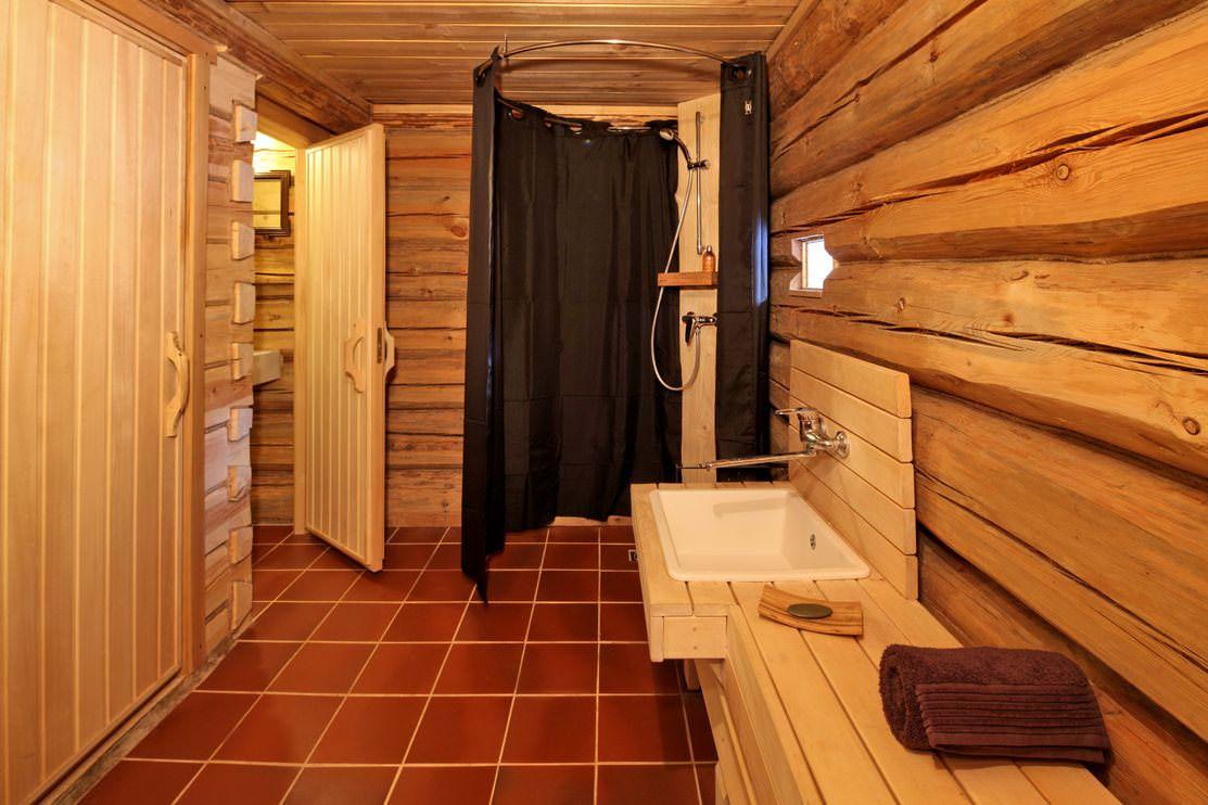 Моечная в бане своими руками 6