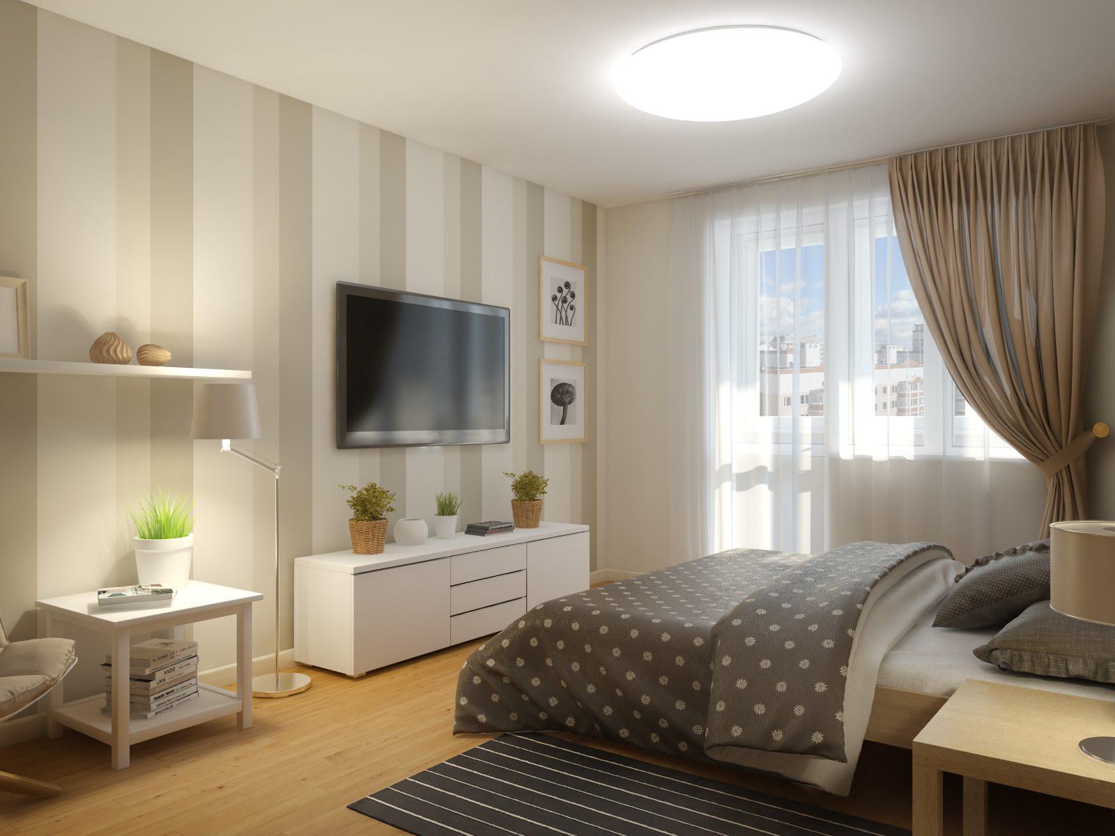Квартиры 1 комнатные дизайн 146