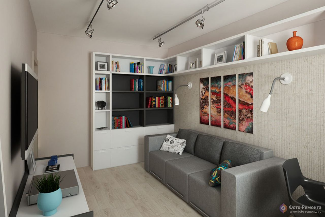 Дизайн интерьера комнаты 9 кв.м