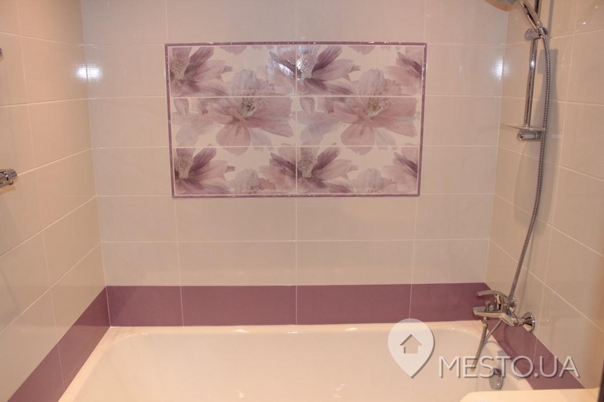 Ремонт ванной комнаты керамической плиткой своими руками