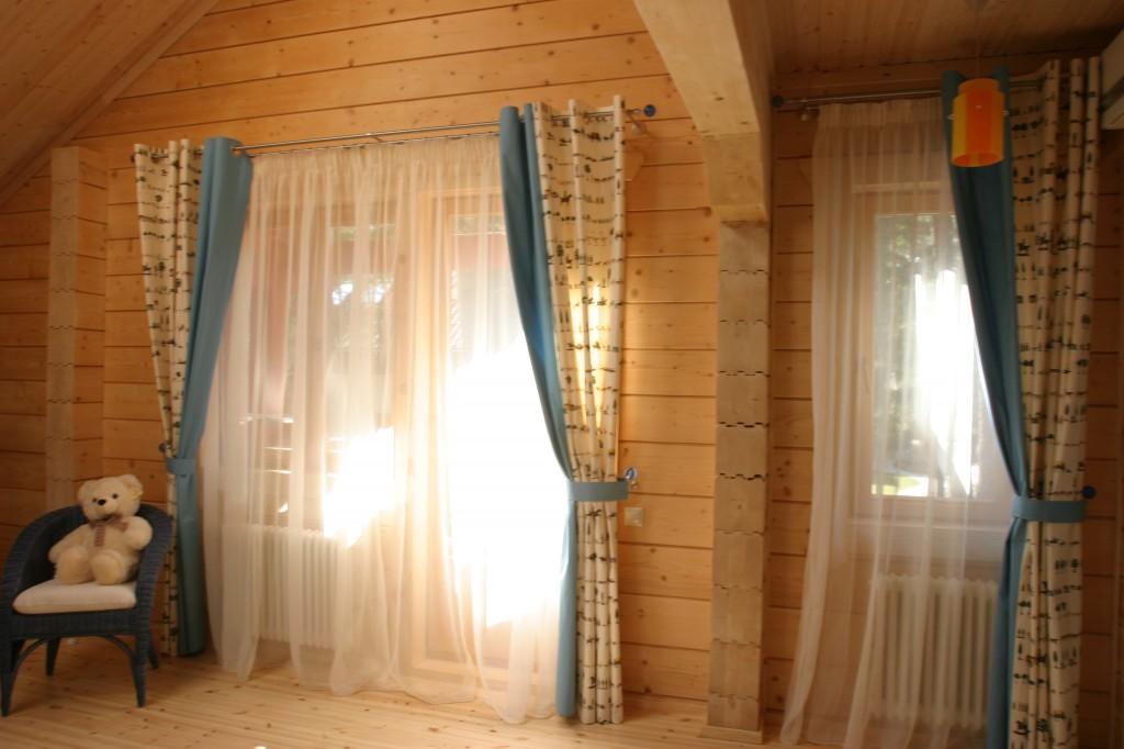 Карнизы в деревянном доме