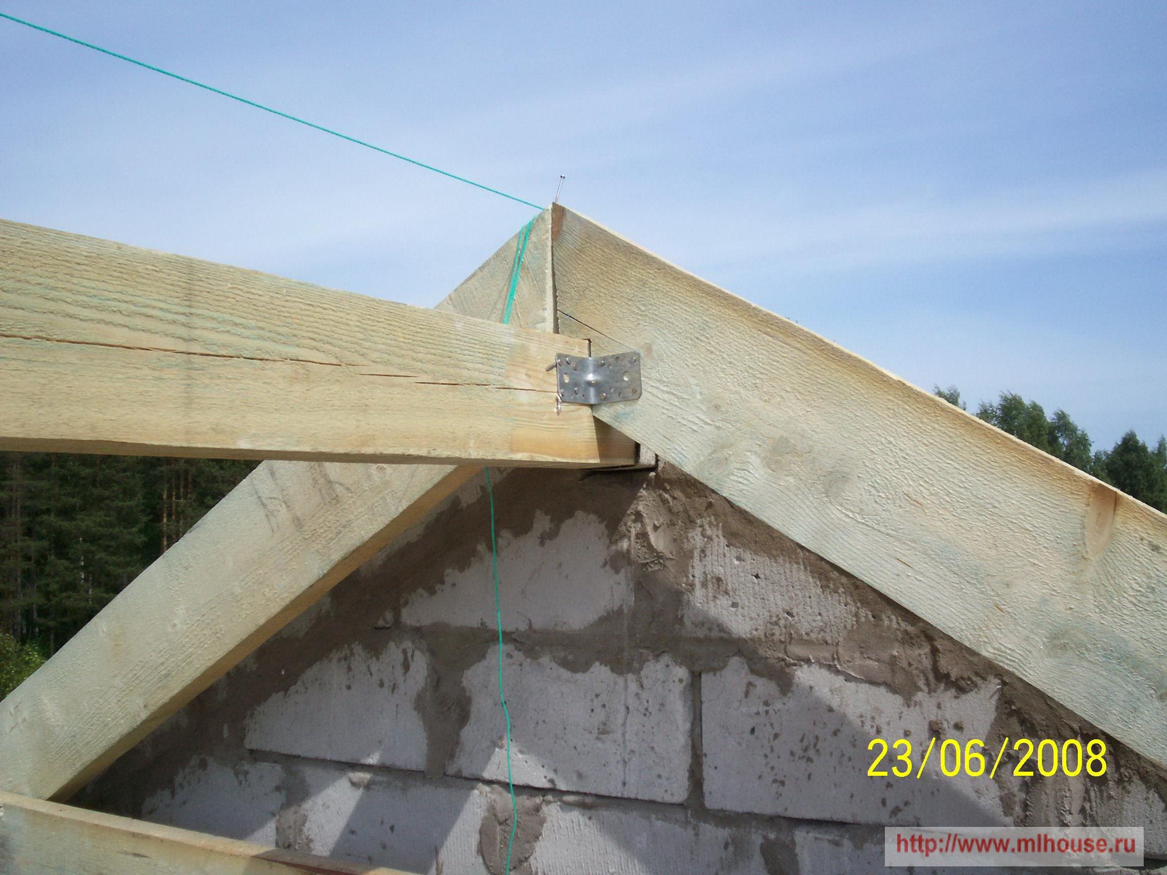 Видео крыша дома своими руками