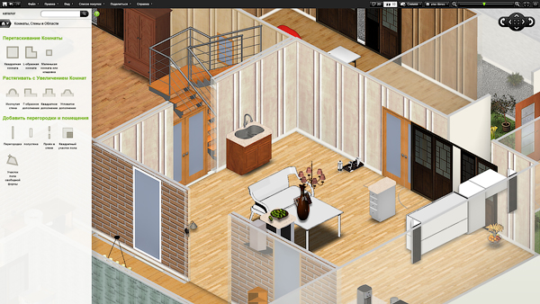 Дизайн интерьера в 3д онлайн