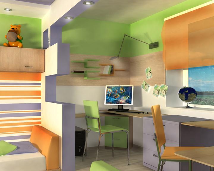 Детские комнаты 13 м дизайн
