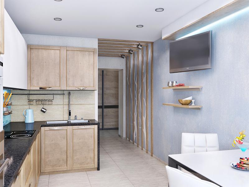 Дизайн квартиры трехкомнатной в панельном доме
