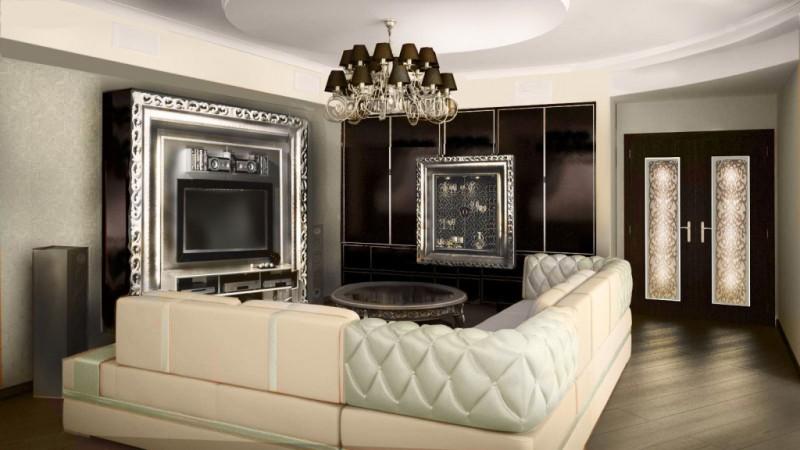 Дизайн квартиры арт-деко