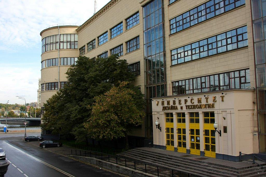 Московские факультеты дизайн