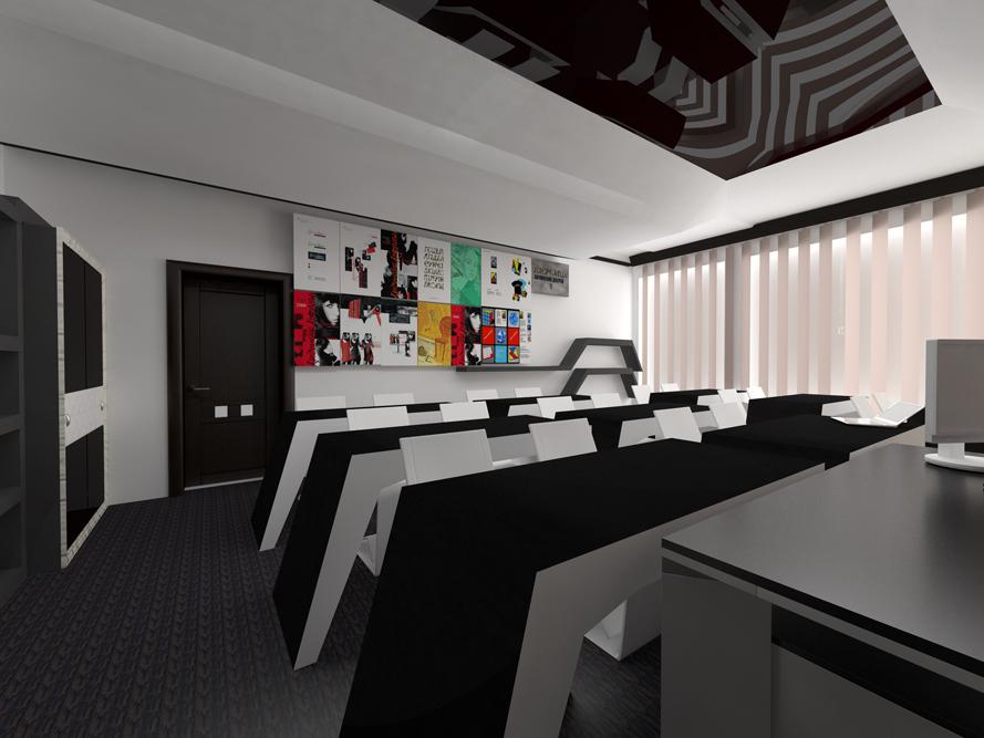 Дизайн интерьера в вузах