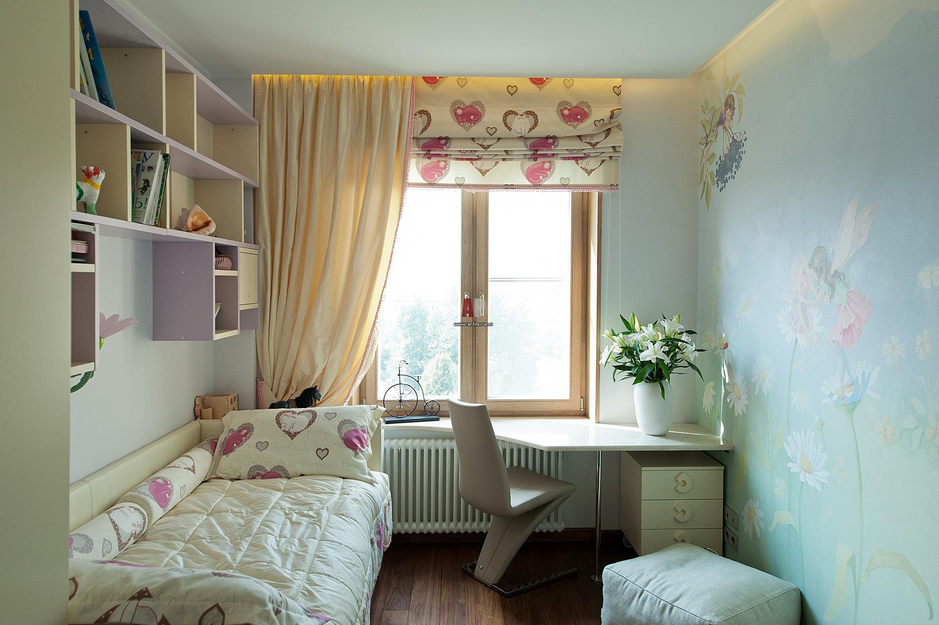 Комната 7 кв.м дизайн