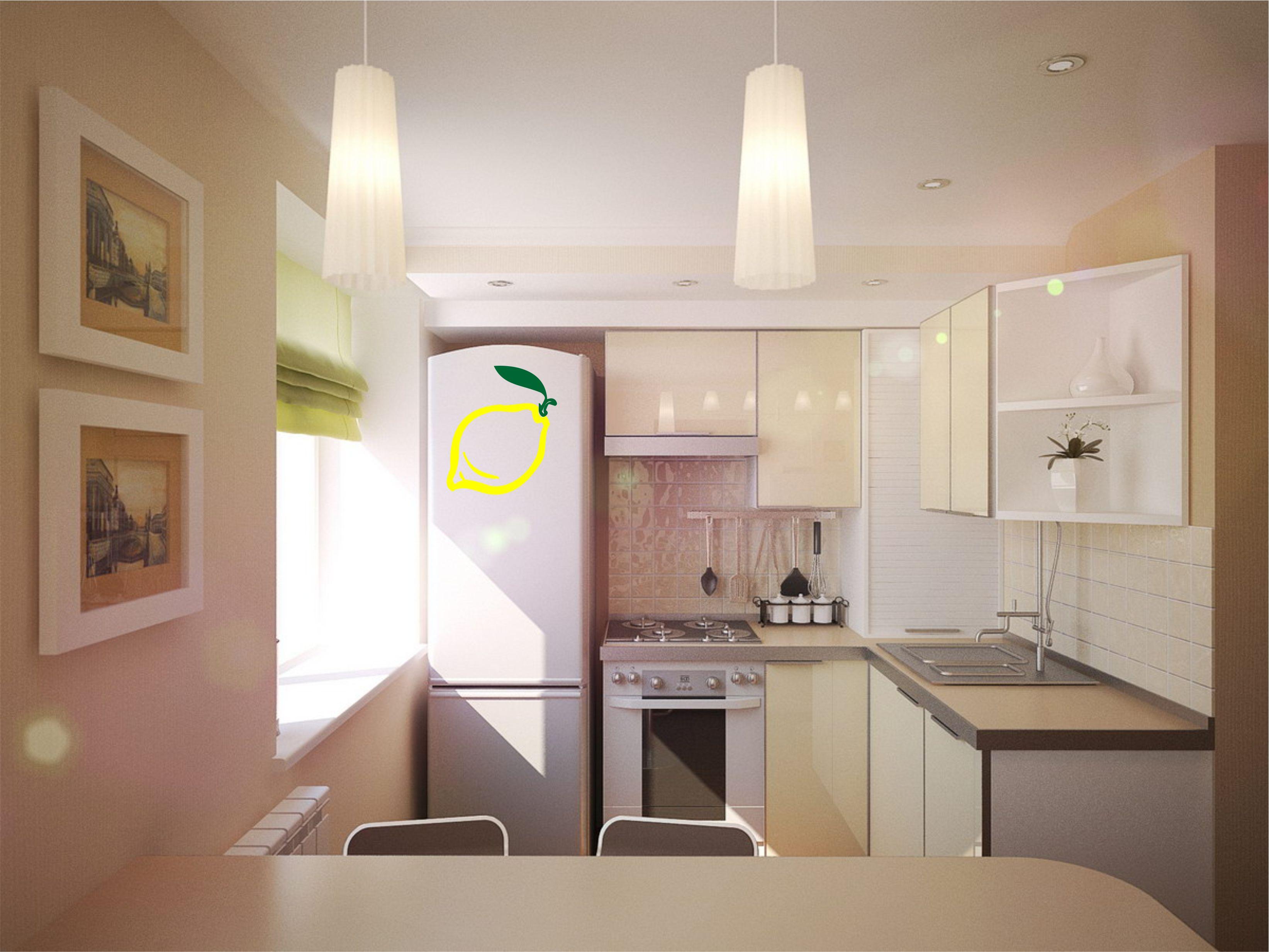 Кухня в хрущевке примеры дизайна фото