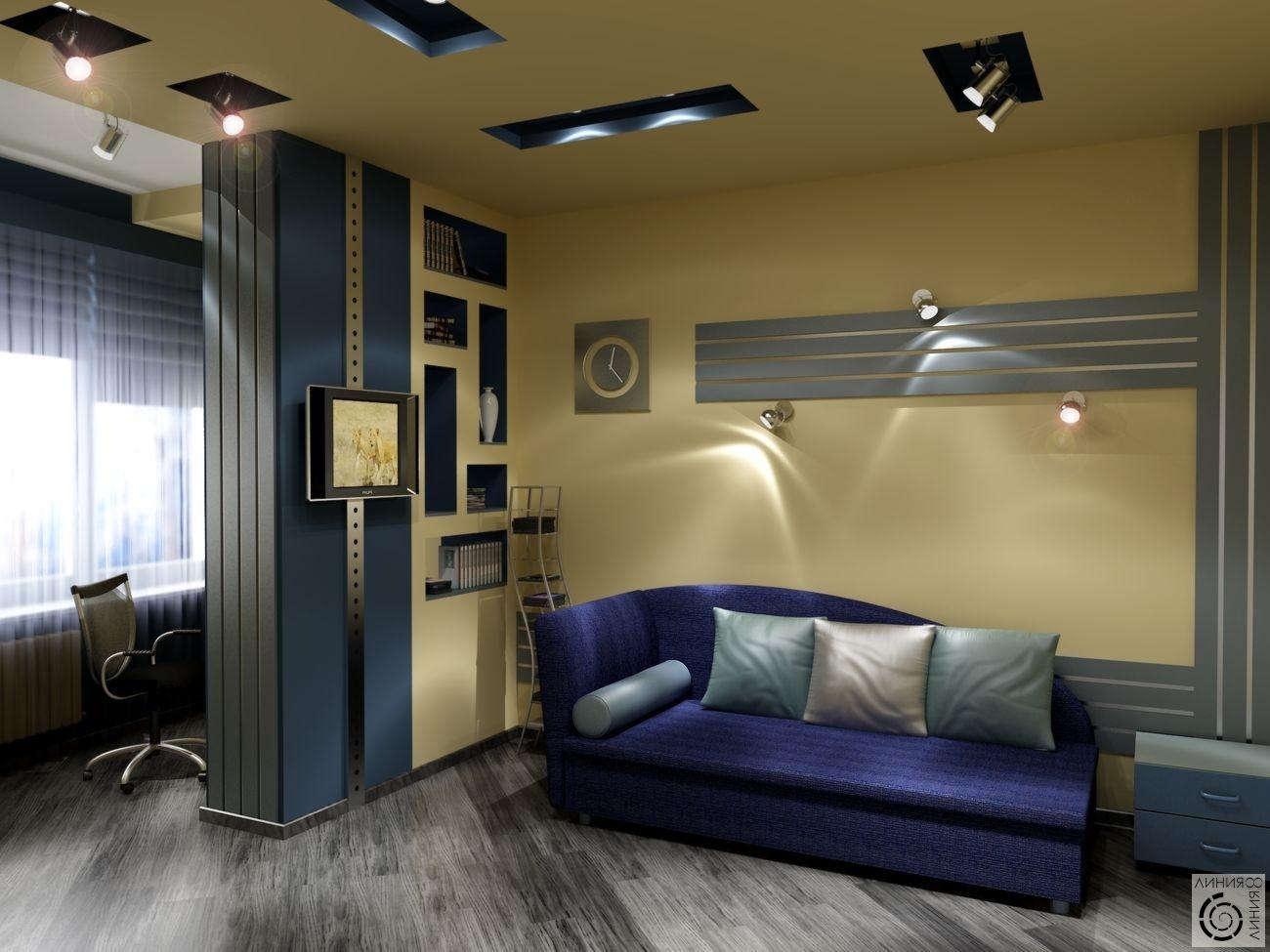 Дизайн комнат для подростков мальчиков только