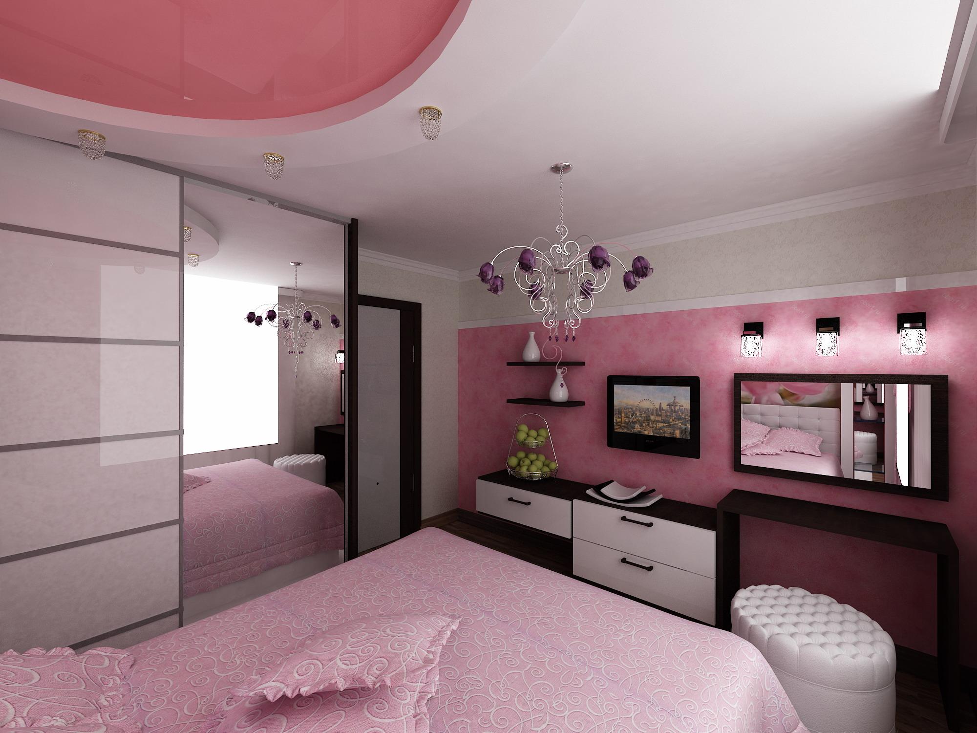 Дизайн проект спальни 14 кв м