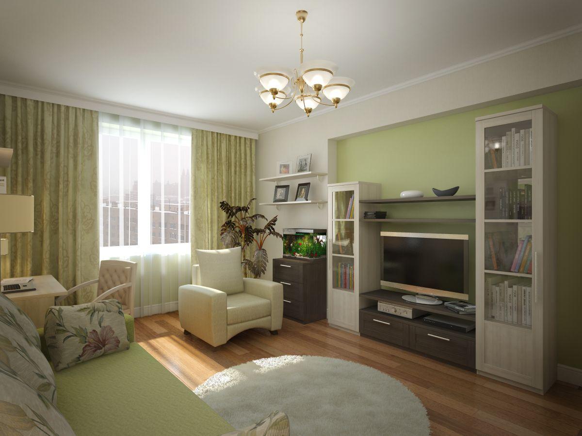 Дизайн двухкомнатной квартиры 100 9