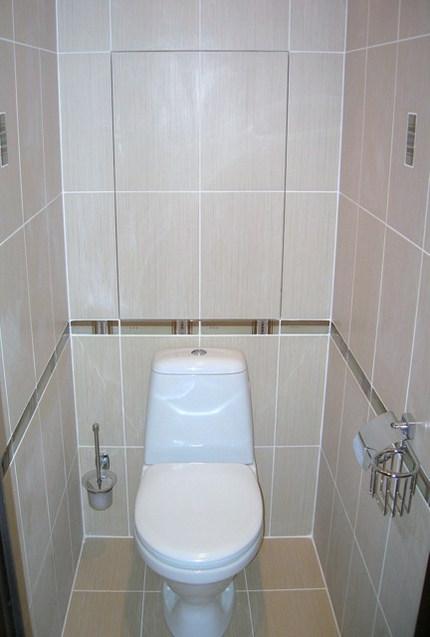 Ремонт в туалете панельного дома