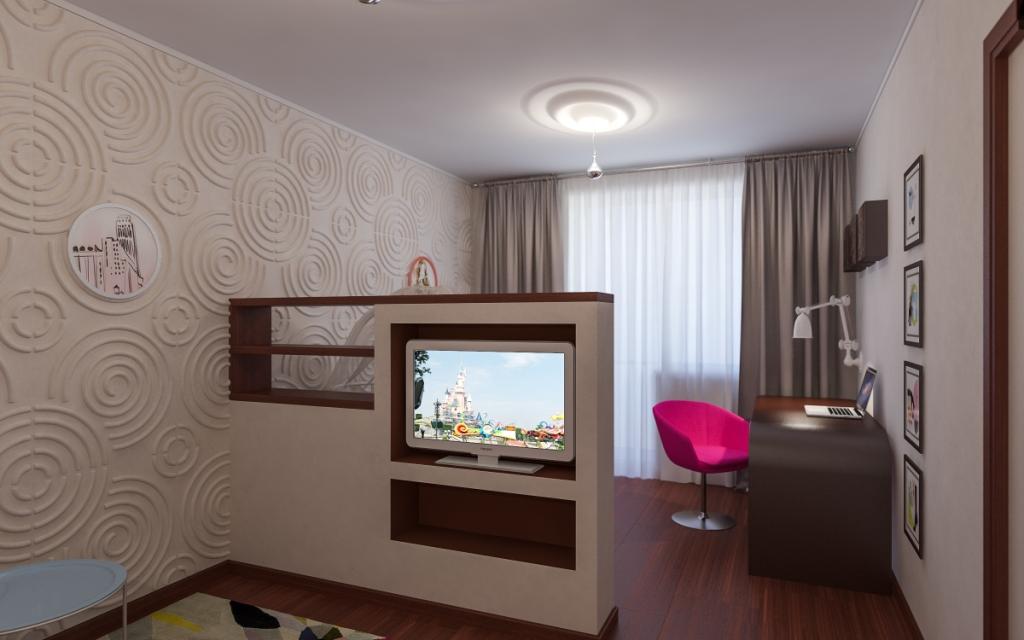 Дизайн комнат 17 кв м