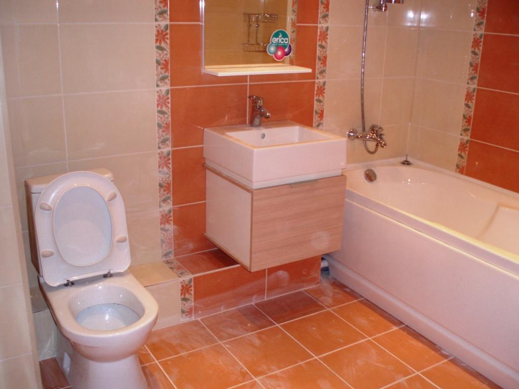 Фото ремонта в ванной комнате и туалете