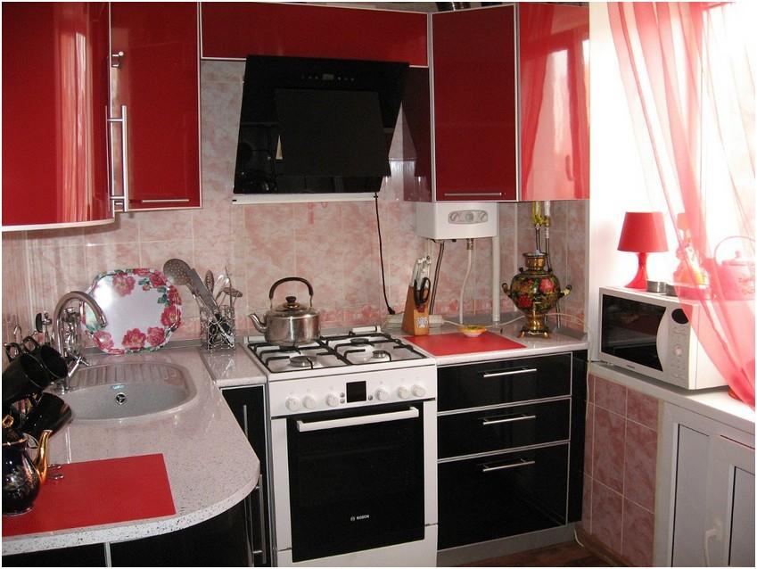 Фото дизайн кухни хрущевок