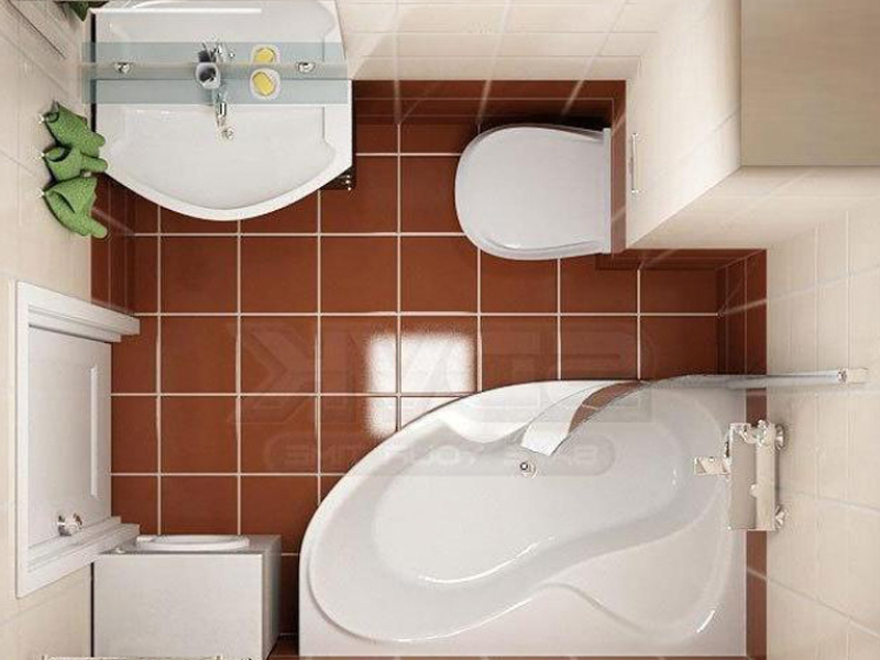 Ремонт совмещенной ванной комнаты фото малых размеров своими руками