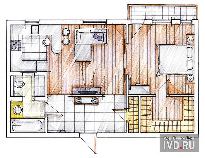 Какой должна быть планировка квартиры в элитном доме